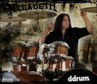 Megadeth drummer Shawn Drover talks about the Big 4, the two Daves and much more