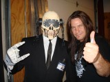 Vic Rattlehead and Shawn Drover!