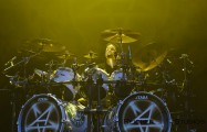 Charlie Benante back home in Chicago, photo by Todd Reicher for LRI