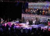 Cheap Trick Dream Police show with Miles by Randall Michelson