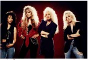 Vixen MTV era band pic Roxy, Jan, Janet and Share