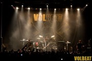 Volbeat back of room