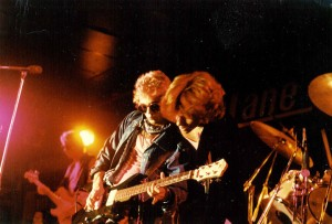 Jack onstage with Jon Bon Jovi in THE FEW