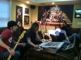Skid Row working on the 2012 album