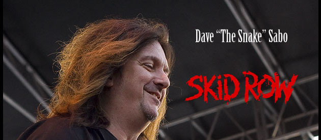 "SKID ROW's  Dave ""The Snake"" Sabo talks about his career, his band and growing up in music"