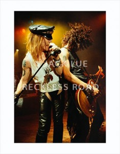 Axl and Slash at the Roxy 3.28.86 by Jack Lue