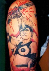 Fan's Plasmatics tat