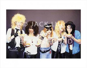 Jack Lue photo available for purchase, the REAL SPAGHETTI INCIDENT photo shoot October of 85