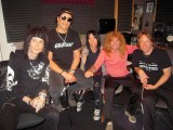 Jacob, Slash, Lonny, Steven and Jeff Pilson