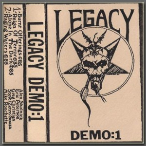 Legacy demo # 1 cassette cover