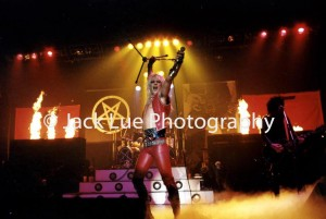 Motley Crue New Years Eve show at Santa Monica Civic, 1981 by JACK LUE