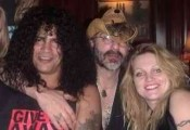 Slash, Alan and Heather Niven