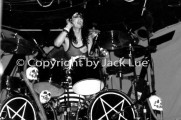 Tommy Lee, Sept. 25, 1982 at the Roxy by JACK LUE