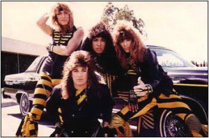 Stryper in the Enigma days...