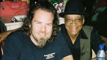 Kenny and Howling Wolf's guitarist Hubert Sumlin