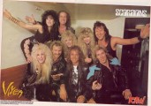 Vixen on the Scorpions tour