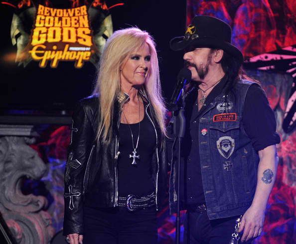 Lita And Lemmy At The Golden Gods Awards Legendary Rock