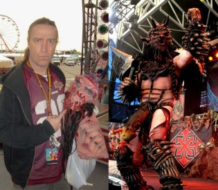 GWAR's Dave Brockie (Oderus Urungus) talks new T.V. show, guitarist and tour