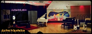 The inside of Electric Lady Studios where both Wicked Lester and Steve's later band LOVER recorded....
