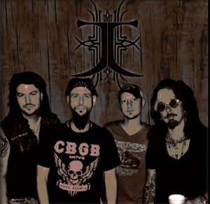 John Corabi Band (L to R)- Cheney Brannon, D.a Karkos, Topher Nolen, and John Corabi