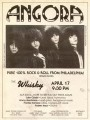 An old flyer from an Angora show, John on far right