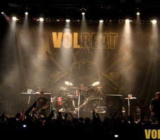 GIGANTOUR- Lacuna Coil, Volbeat, Motorhead and Megadeth- Milwaukee, WI- Eagles Ballroom 2/12/12