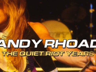Book/DVD Review-  Randy Rhoads, The Quiet Riot Years by Ron Sobol, Red Match Productions