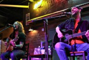 D.A. and John Corabi performing live, photo by Heidi Bickel