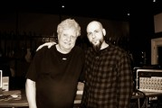 D.A. and the legendary Michael Wagener photo by Shayna Kurth