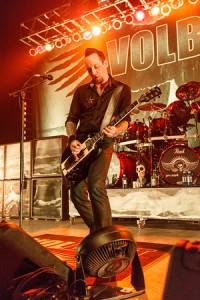 Michael Poulson of Volbeat, photo by Todd Reicher for LRI