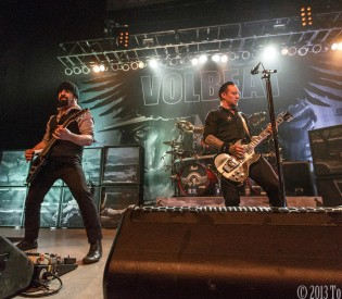 Volbeat- Orpheum Theatre- Madison, WI 5/16/13 (Photos)