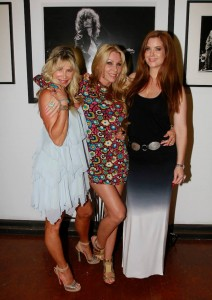 Blue and Sharise from Ex Wives Of Rock with Carrie!
