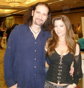 Mr. Kool, Bruce Kulick with his pal Carrie, photo from Kulick.net