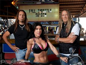 Jesse. Angie and Mike of Full Throttle Saloon