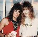 Michael and Stryper bassist Tim Gaines who finally can hear himself on their classic hits!