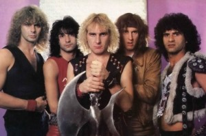 Old School Krokus shot from 1983