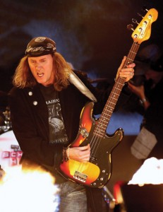 Chris Von Rohr of Krokus