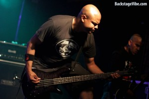 Mind Drop bassist Chris Ruzic, photo by Backstagevibe.com