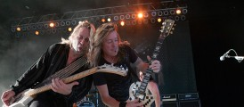 Slaughter – Freedom Hill Amphitheatre- Sterling Heights, MI – 8/23/13 (Photos)