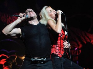 Cherie and Glenn Danzig from a recent show, photo by Maurice Nunez