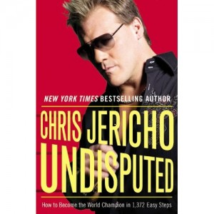 Jericho's second autobio Undisputed, third on it's way!