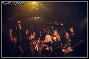 The Pamela Moore Band, photo by Iron Mike Savoia