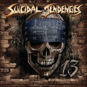 "If you need a energy boost, skip the Red Bull and get the latest Suicidal Tendencies ""13"""