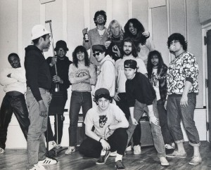 The Slayer, Run-DMC, Beastie posse convention of ol skool Def Jam years