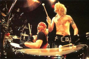 Matt and Duff live onstage back in the day!