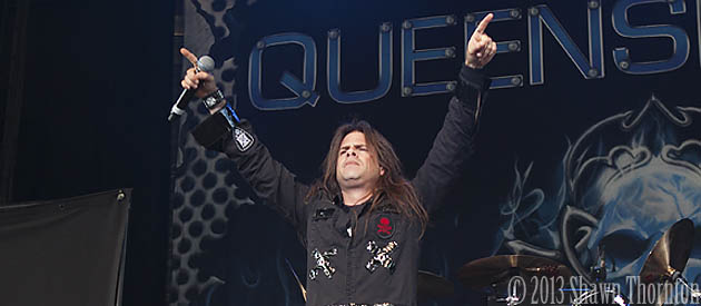 "Queensryche singer Todd LaTorre:  ""It's not a hard thing to feel motivated or hungry because we are honestly excited about the music"""