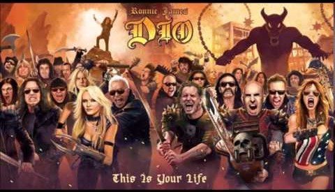 "Album Review:  ""Ronnie James Dio: This Is Your Life"" Tribute Album"