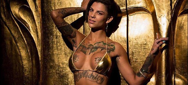 "Bonnie Rotten, 2014 AVN Performer of The Year:  ""I love heavy metal… I have a Kreator tattoo!!"""