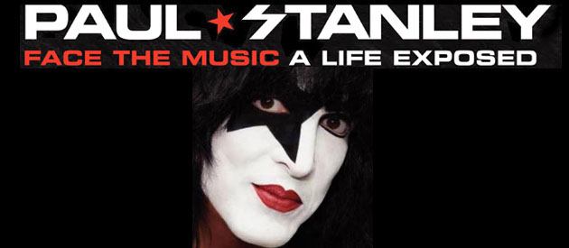 "Book Review-  Paul Stanley ""Face The Music""- Harper One"