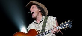 Ted Nugent- Shut Up and Jam Tour- DTE Energy Music Theatre- Clarkston, MI- 7/19/14